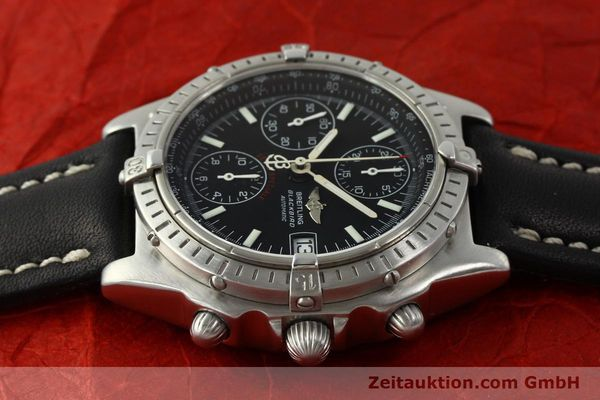 Used luxury watch Breitling Chronomat chronograph steel automatic Kal. ETA 7750  | 150011 05