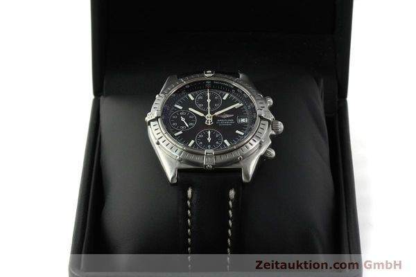 Used luxury watch Breitling Chronomat chronograph steel automatic Kal. ETA 7750  | 150011 07