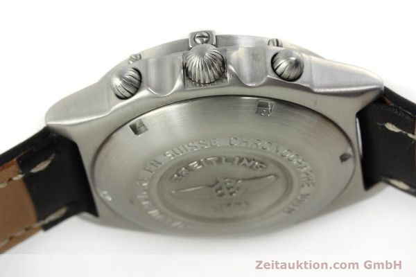 Used luxury watch Breitling Chronomat chronograph steel automatic Kal. ETA 7750  | 150011 08