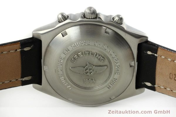 Used luxury watch Breitling Chronomat chronograph steel automatic Kal. ETA 7750  | 150011 09