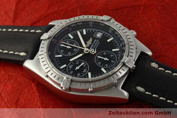 Used luxury watch Breitling Chronomat chronograph steel automatic Kal. ETA 7750  | 150011 12