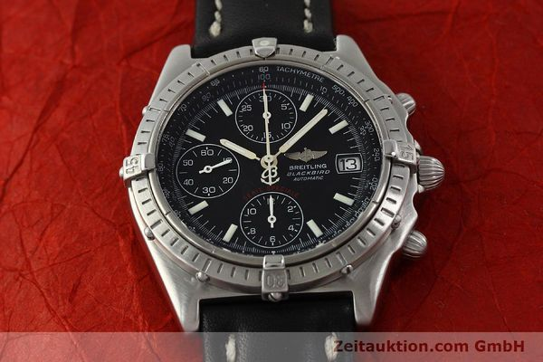 Used luxury watch Breitling Chronomat chronograph steel automatic Kal. ETA 7750  | 150011 13