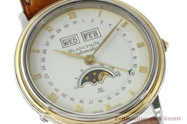 Used luxury watch Blancpain Villeret steel / gold automatic Kal. 6595  | 150012 02