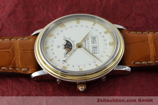 Used luxury watch Blancpain Villeret steel / gold automatic Kal. 6595  | 150012 05
