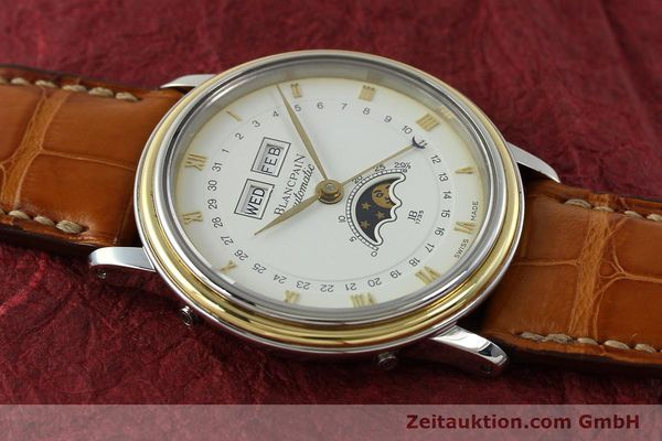 Used luxury watch Blancpain Villeret steel / gold automatic Kal. 6595  | 150012 13