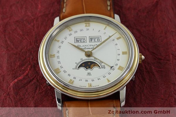 Used luxury watch Blancpain Villeret steel / gold automatic Kal. 6595  | 150012 14