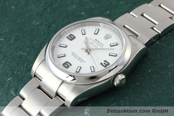 Used luxury watch Rolex Air King steel automatic Kal. 3130 Ref. 114200  | 150014 01