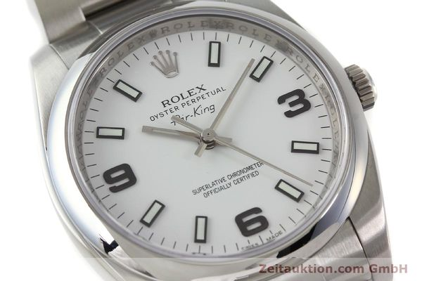 montre de luxe d occasion Rolex Air King acier automatique Kal. 3130 Ref. 114200  | 150014 02