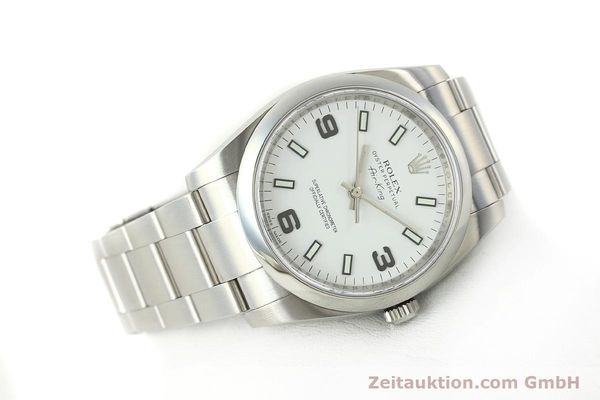 Used luxury watch Rolex Air King steel automatic Kal. 3130 Ref. 114200  | 150014 03