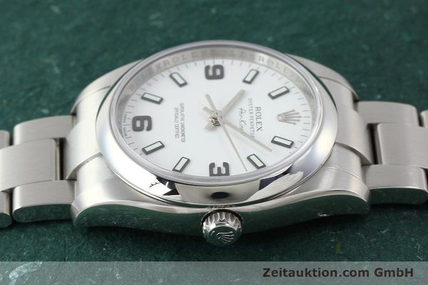 Used luxury watch Rolex Air King steel automatic Kal. 3130 Ref. 114200  | 150014 05