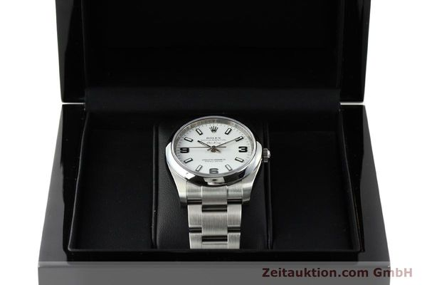 montre de luxe d occasion Rolex Air King acier automatique Kal. 3130 Ref. 114200  | 150014 07