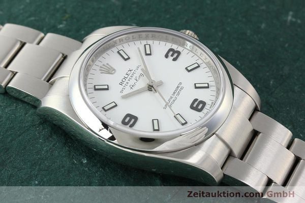 Used luxury watch Rolex Air King steel automatic Kal. 3130 Ref. 114200  | 150014 15