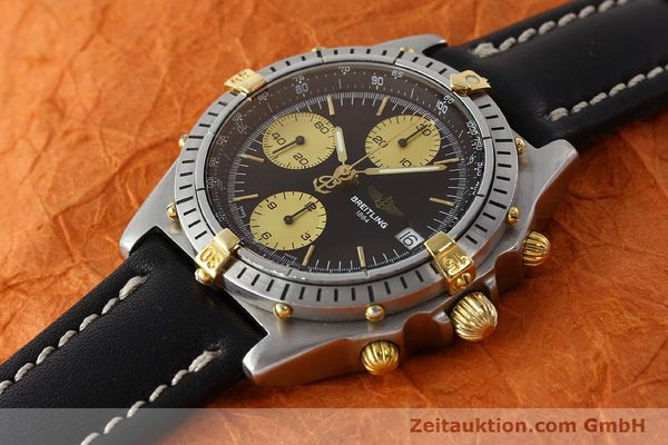 Used luxury watch Breitling Chronomat chronograph steel / gold automatic Kal. B13 ETA 7750 Ref. 81950B13047  | 150019 01