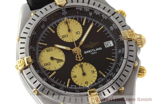 Used luxury watch Breitling Chronomat chronograph steel / gold automatic Kal. B13 ETA 7750 Ref. 81950B13047  | 150019 02