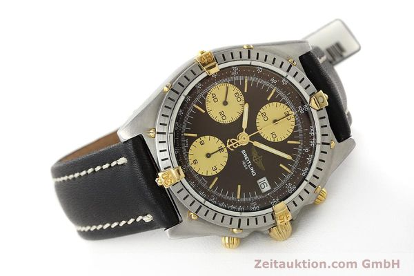 Used luxury watch Breitling Chronomat chronograph steel / gold automatic Kal. B13 ETA 7750 Ref. 81950B13047  | 150019 03