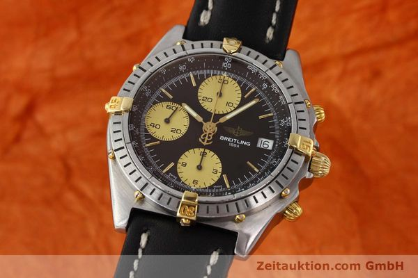Used luxury watch Breitling Chronomat chronograph steel / gold automatic Kal. B13 ETA 7750 Ref. 81950B13047  | 150019 04