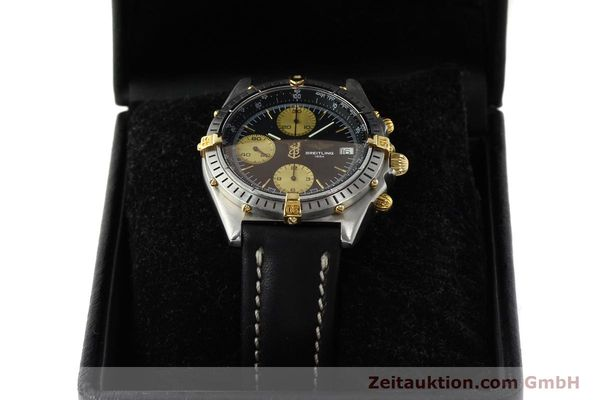 Used luxury watch Breitling Chronomat chronograph steel / gold automatic Kal. B13 ETA 7750 Ref. 81950B13047  | 150019 07