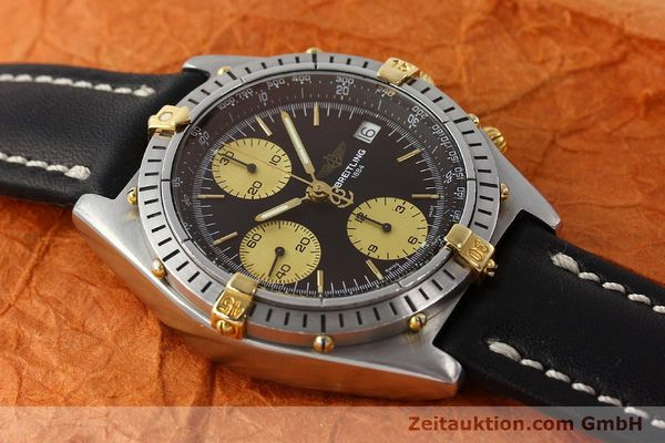 Used luxury watch Breitling Chronomat chronograph steel / gold automatic Kal. B13 ETA 7750 Ref. 81950B13047  | 150019 13