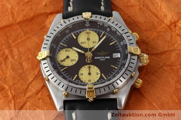 Used luxury watch Breitling Chronomat chronograph steel / gold automatic Kal. B13 ETA 7750 Ref. 81950B13047  | 150019 14