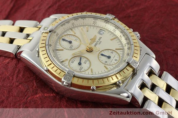 Used luxury watch Breitling Chronomat chronograph steel / gold automatic Kal. B13 ETA 7750 Ref. D13050  | 150020 14