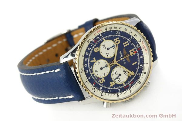 Used luxury watch Breitling Navitimer chronograph steel / gold automatic Kal. B30 ETA 2892-2 Ref. D30021  | 150021 03