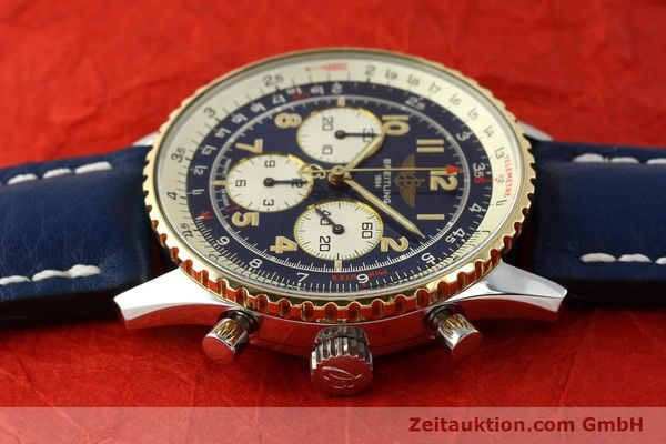 Used luxury watch Breitling Navitimer chronograph steel / gold automatic Kal. B30 ETA 2892-2 Ref. D30021  | 150021 05