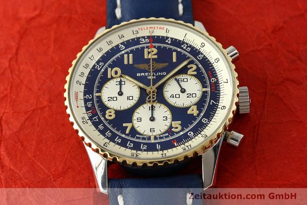 Used luxury watch Breitling Navitimer chronograph steel / gold automatic Kal. B30 ETA 2892-2 Ref. D30021  | 150021 15