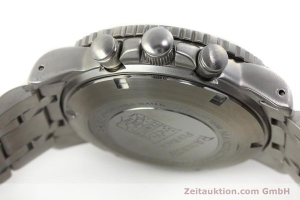 Used luxury watch Zenith Elprimero chronograph steel automatic Kal. 405Z Ref. 01/02.0470.405  | 150025 08