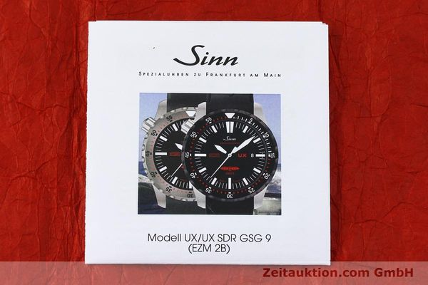 Used luxury watch Sinn UX SDR GSG9 steel quartz  | 150027 12