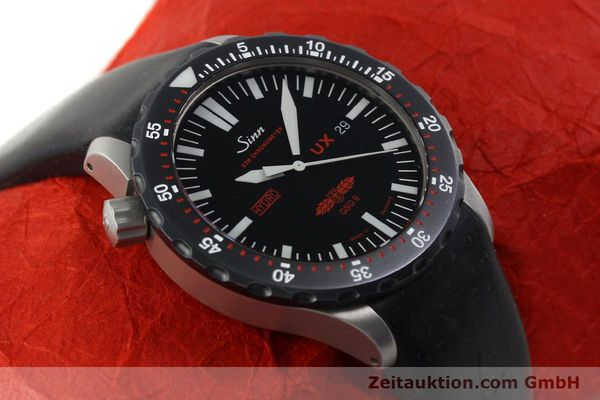 Used luxury watch Sinn UX SDR GSG9 steel quartz  | 150027 15