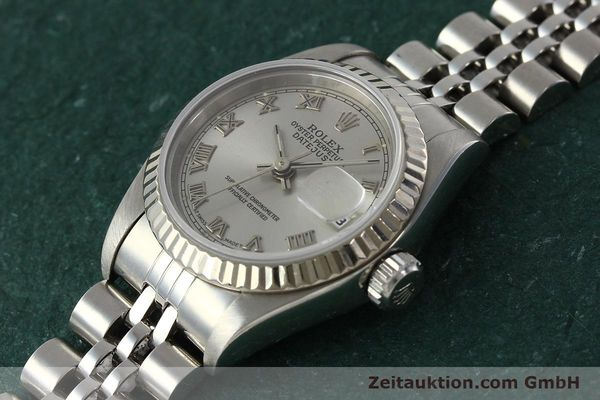 Used luxury watch Rolex Lady Datejust steel / white gold automatic Kal. 2135 Ref. 69174  | 150028 01