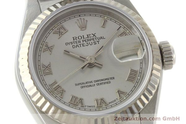 Used luxury watch Rolex Lady Datejust steel / white gold automatic Kal. 2135 Ref. 69174  | 150028 02