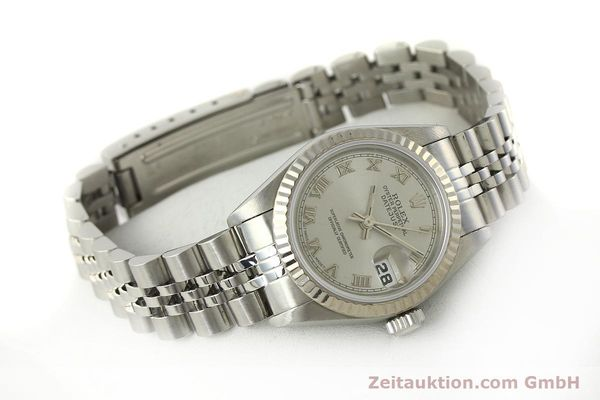 Used luxury watch Rolex Lady Datejust steel / white gold automatic Kal. 2135 Ref. 69174  | 150028 03
