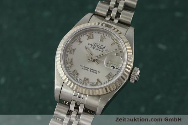 Used luxury watch Rolex Lady Datejust steel / white gold automatic Kal. 2135 Ref. 69174  | 150028 04