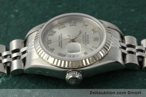Used luxury watch Rolex Lady Datejust steel / white gold automatic Kal. 2135 Ref. 69174  | 150028 05
