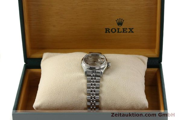 Used luxury watch Rolex Lady Datejust steel / white gold automatic Kal. 2135 Ref. 69174  | 150028 07