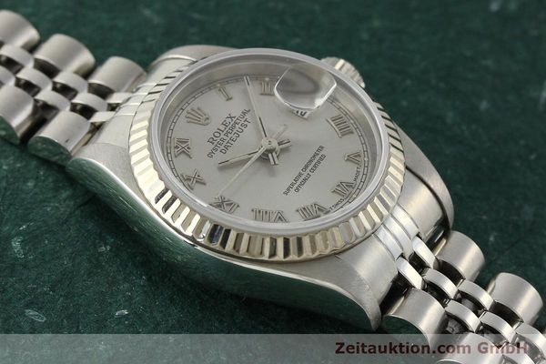 Used luxury watch Rolex Lady Datejust steel / white gold automatic Kal. 2135 Ref. 69174  | 150028 15