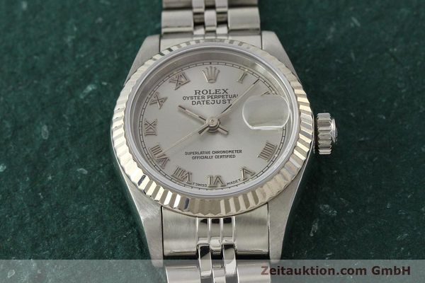 Used luxury watch Rolex Lady Datejust steel / white gold automatic Kal. 2135 Ref. 69174  | 150028 16