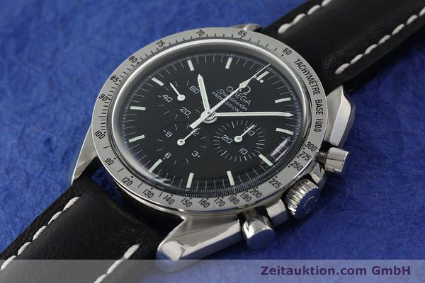Used luxury watch Omega Speedmaster chronograph steel manual winding Kal. 861  | 150032 01