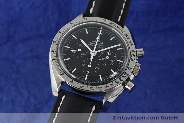 Used luxury watch Omega Speedmaster chronograph steel manual winding Kal. 861  | 150032 04