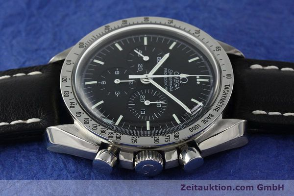 Used luxury watch Omega Speedmaster chronograph steel manual winding Kal. 861  | 150032 05