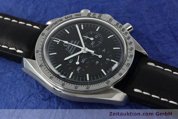 Used luxury watch Omega Speedmaster chronograph steel manual winding Kal. 861  | 150032 13