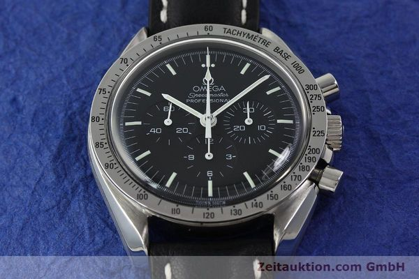 Used luxury watch Omega Speedmaster chronograph steel manual winding Kal. 861  | 150032 14