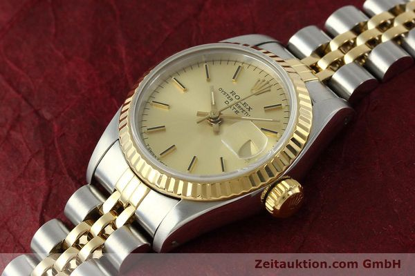 Used luxury watch Rolex Lady Date steel / gold automatic Kal. 2135 Ref. 69173  | 150033 01