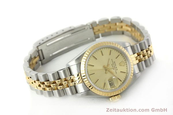 Used luxury watch Rolex Lady Date steel / gold automatic Kal. 2135 Ref. 69173  | 150033 03