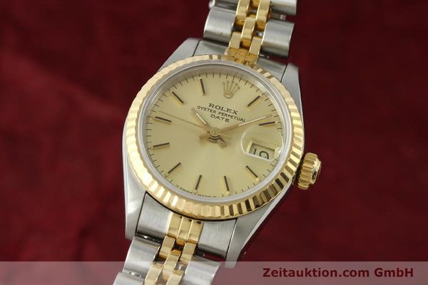 Used luxury watch Rolex Lady Date steel / gold automatic Kal. 2135 Ref. 69173  | 150033 04