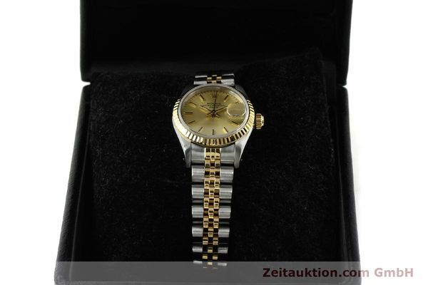 Used luxury watch Rolex Lady Date steel / gold automatic Kal. 2135 Ref. 69173  | 150033 07