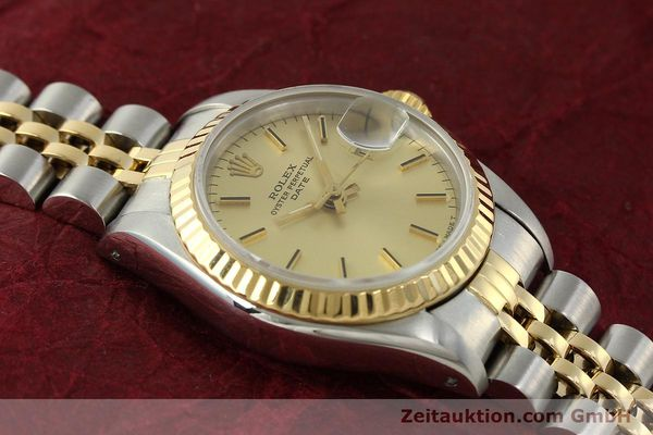 Used luxury watch Rolex Lady Date steel / gold automatic Kal. 2135 Ref. 69173  | 150033 15