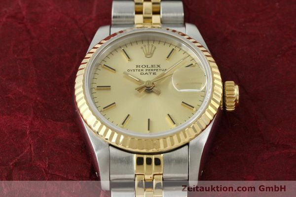 Used luxury watch Rolex Lady Date steel / gold automatic Kal. 2135 Ref. 69173  | 150033 16
