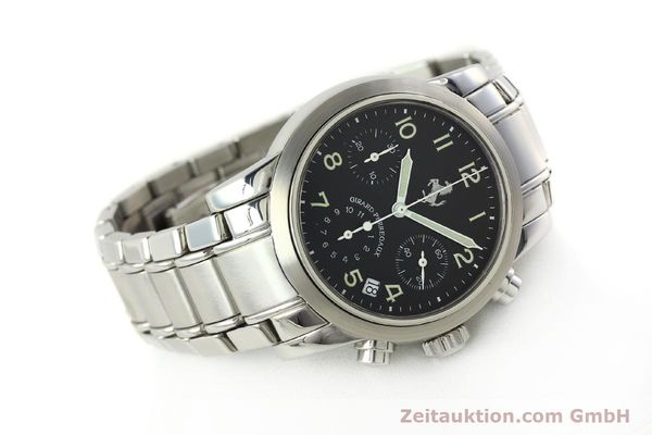 Used luxury watch Girard Perregaux Ferrari chronograph steel automatic Kal. 2280-731 Ref. 8020  | 150035 03